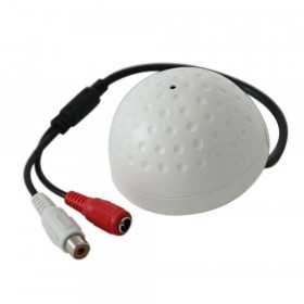 Accessories video surveillance -Microphone dome high sensitivity