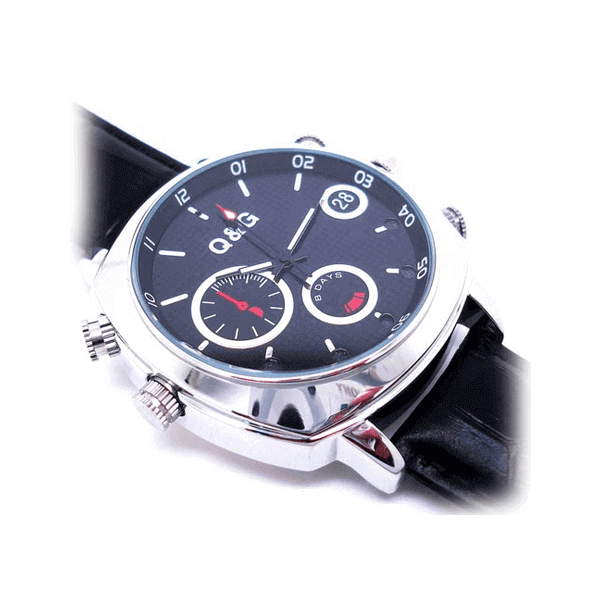 Watch with infrared camera
