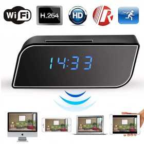 Spy Camera clock-Wake up wifi HD miniature camera