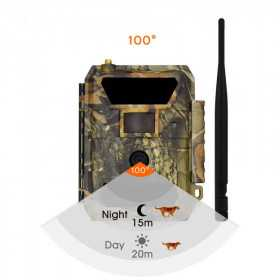 Caméra de chasse GSM-Caméra De Chasse 720P Infrarouge MMS Leds Invisible