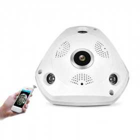 Camera ip-Caméra IP Panoramique 360° Wifi-SS964-spy-security