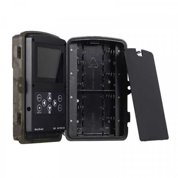 16MP invisible wifi leds camera trap