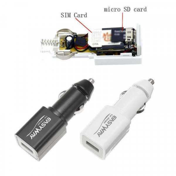 Cigarette lighter GPS tracker and spy microphone