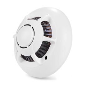 Smoke camera detector-Wifi HD spy cam smoke detector