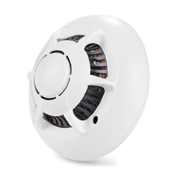 Smoke camera detector-Wifi HD spy cam smoke detector-FUM-IPWIF-