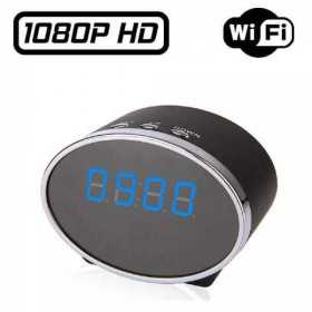 IP Wifi spy camera alarm clock