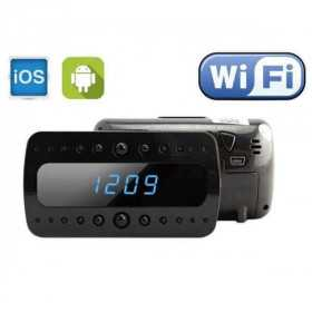 Spy Camera clock-Alarm clock camera spy wifi-OIUYTR-