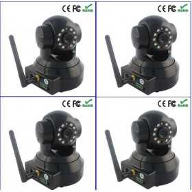 IP camera -4 infrared motorized wifi ip surveillance cameras
