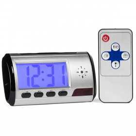 Spy Camera clock-Alarm clock spy camera 2 MP-MF-CDR03-spy-security