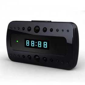 Spy Camera clock-Alarm clock spy camera 5 MP Full HD-MF-YLOP-spy-security