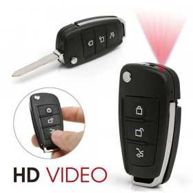 Spy camera key-Key HD 720 p car