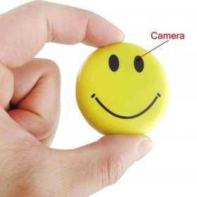 Badge caméra miniature HD - 44,90 €-Caméra espion divers-Spy-Security