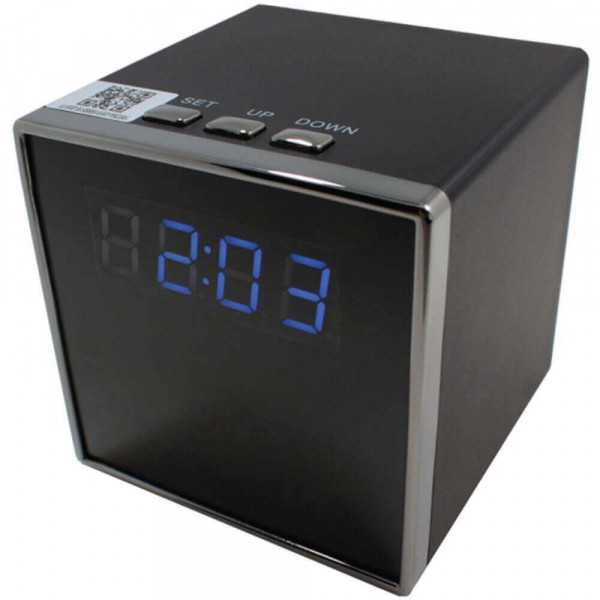Spy Camera clock-Alarm clock camera wifi 1080 p-REV-YHNBG-