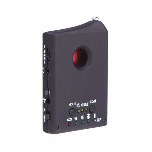 Wireless camera and microphone detector